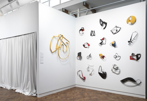 Installation view, Gallery 2: Lucinda McDonald 'Connections'. Image Silversalt photography.