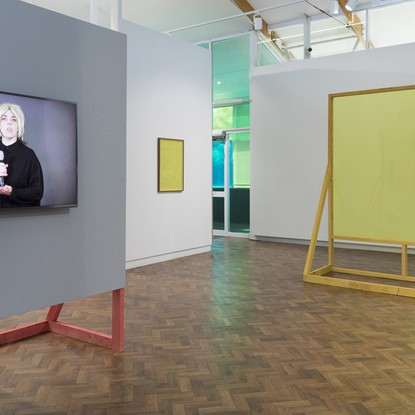 Installation view, Barbara Cleveland 'Thinking Business', 9 oct.. - 14 nov . 2020. Image Silversalt Photography