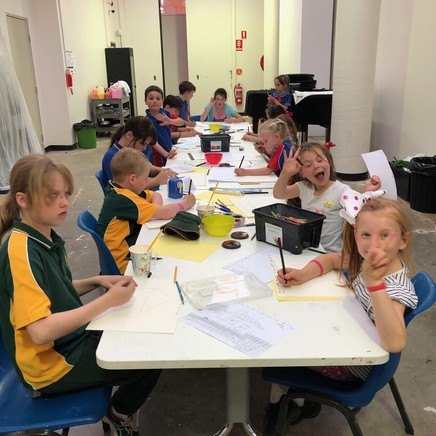 Afternoon Art Club Term 1